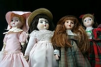 Four seasons porcelain dolls with stands Cooksville, 21723