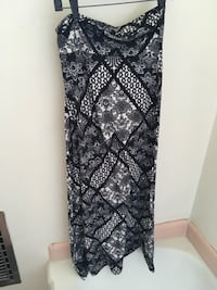 Black and white maxi skirt View Park, 90008