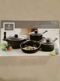 Gibson H9me 7 piece non stick cookware  Owings Mills, 21117