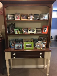 Cabinet and hutch Sherwood Park, T8A 3T9