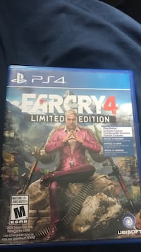 Sony PS4 Farcry 4 Limited Edition case Lakeshore, N0R