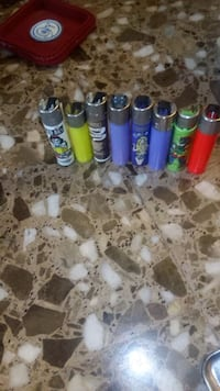 Coleccion 47 mecheros Clippers sin gas ni piedra Molins de Rei, 08750