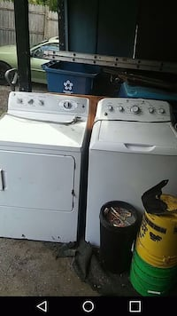 white washer and dryer set 428 mi