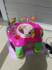baby's pink, green and purple floral exersaucer Gaithersburg, 20879