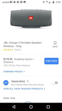 Jbl 3 charge Bluetooth speaker sounds great