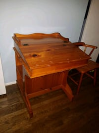 brown wooden desk with chair Rockville, 20850