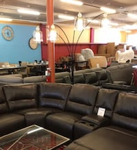 New Sofa Love Seat/ Leather Sectional Roseville
