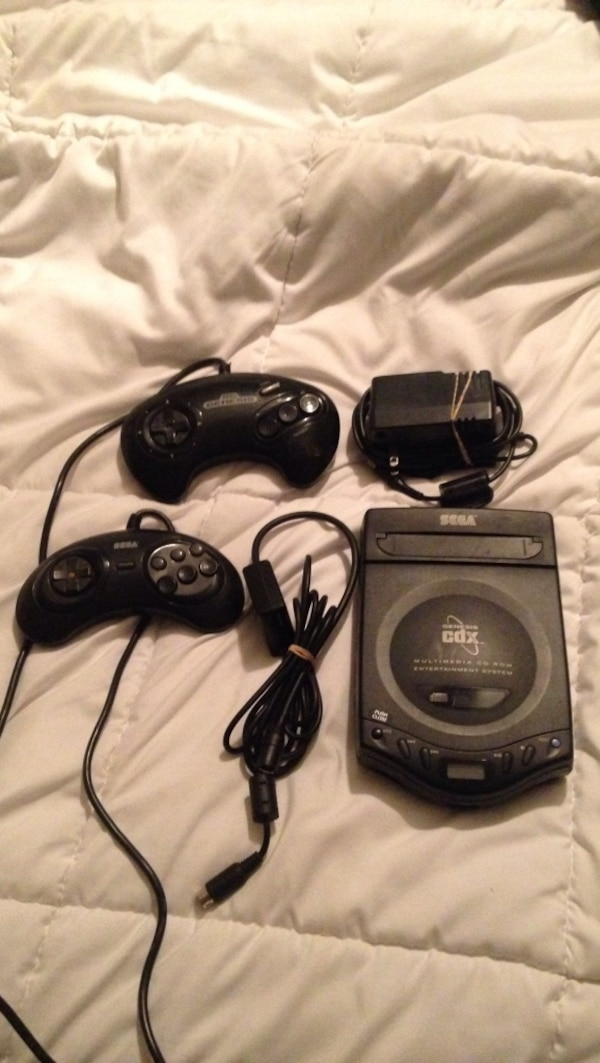 Sega Genesis CDX CD ROM, firm price