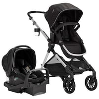 Evenflo 57122255C Pivot Expand Standard Stroller and seat -black NEW Brampton, L6R 3K5