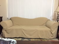 4 cushion seat couch w/Cover Houston, 77095