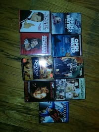 assorted movie DVD case lot Guelph