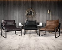 Luxurious, Supple Leather Modern / Industrial Lounge Chair  Toronto, M9L 2S5