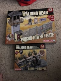 Walking Dead McFarlane building sets new in boxes Jacksonville, 32257
