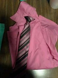 Long sleeve dress shirt and tie size 8 Indianapolis, 46203