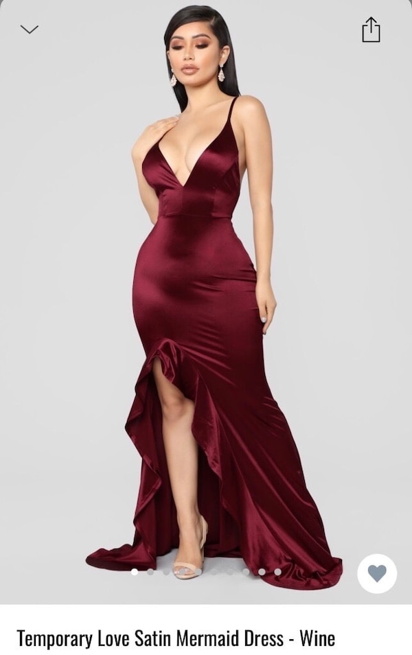 e8c80fd57ef Used Fashion Nova Prom Dress for sale in Toronto - letgo