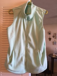 Ladies mint green fleece vest Elkhart, 46516