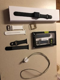 Apple Series 1 watch with bumpers and extra bands. Moore, 29369