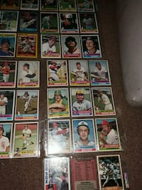 1976 to earlie 80s baseball cards Kings Mountain, 28086