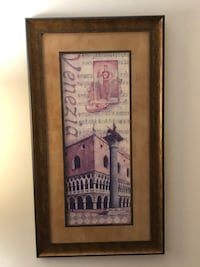 Italian Framed Prints. Sold as a pair McLean, 22102