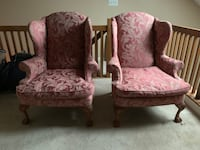 Beautiful Wing Back Chairs Chantilly