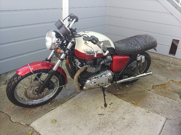 Used 2012 Triumph Bonneville T100 For Sale In San Francisco Letgo