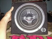 """10"""" pioneer championship series in a bassworx box Duncan"""