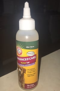 For dogs dental gel. 15 bottles for sale. 5$ each  Edmonton, T6E 1H9