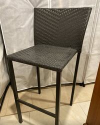 4 x Stackable High Top Patio Chairs  Mississauga