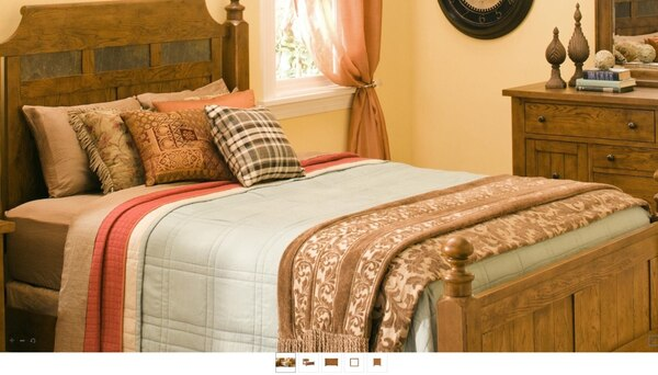 Bed set(raymour and flanigan)