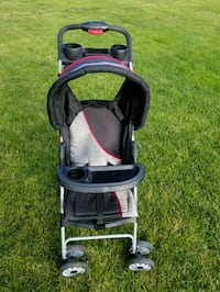 baby's black and gray stroller Plainfield, 60586