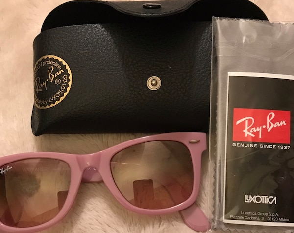 Authentic Ray-Ban pink sunglasses