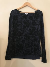 Blue & Black Floral Sweater Reading, 19608