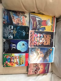 six assorted DVD movie cases Brantford, N3S 7M9