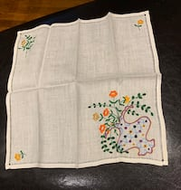 Vintage embroidered hanky Oakville, L6L 4X4