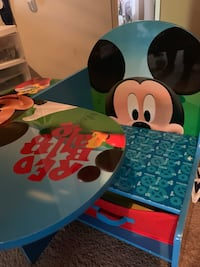 Toddler Mickey Mouse Desk (New) Assembled  Washington, 20032