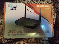 Comtrend WR-5887 wireless router box