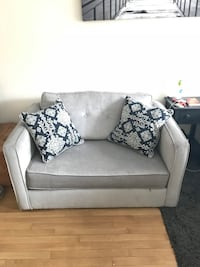 Gray Pull Out Sofa East Williston, 11596