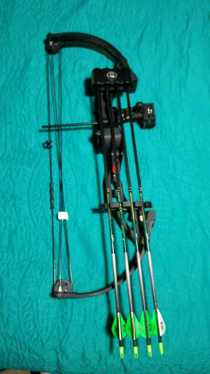 Photo Fred Bear youth compound bow