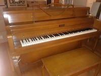 brown and white upright piano Olney, 20832