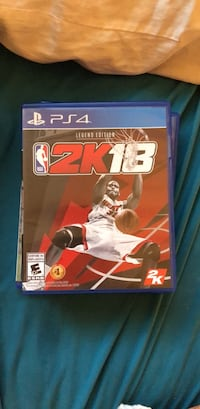 Nba 2k18 PS4 Richmond Hill, L4C 0J5