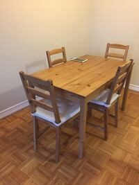 Very clean IKEA dining set