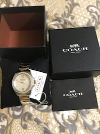 Brand new authentic coach ladies watch click on my profile picture on this page to check out my other listings message me if you interested pick up in Gaithersburg Maryland 20877 all sales final  26 km
