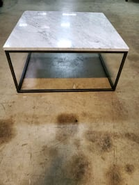 Outdoor marble table