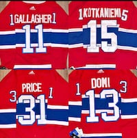 Brand new Jersey of Price, Gallagher & Kotkaniemi (size 52 men hommes) Laval, H7P 5V3