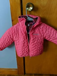 Columbia girls reversible jacket size two in good condition.