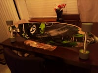 """Sector 9 bhnc """"bomb hills not countries"""" pintail longboard"""