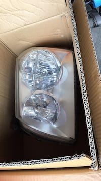 car headlight in box