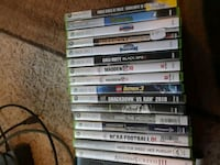 assorted Xbox 360 game cases Medford, 97504