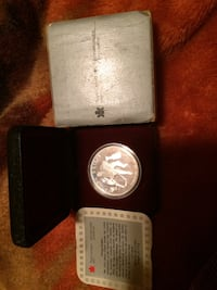 100th anniversary Stanley cup silver .9999 coin London, N5V 4P8