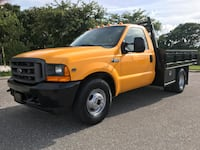 Ford F-350 flat bed dually low miles  Clearwater, 33762